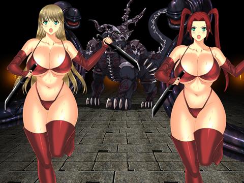 魔物と共に出現する女戦闘員
